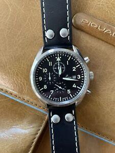 LACO Trier Flieger Pilot Chronograph 42mm