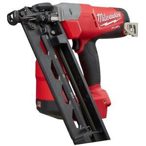 Milwaukee 2742-20 M18 FUEL 18V 16-Gauge Angled FInish Nailer - Bare Tool