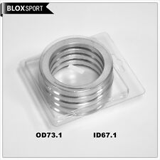 aluminum hub centric rings 73.1mm to 67.1mm | Hubcentric Ring 73 -67