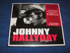JOHNNY HALLYDAY LA BAGARRE L IDOLE DES JEUNES ETC COFFRET 3 CD / 93 TITRES NEUF
