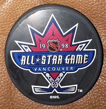1998 NHL All Star Game Hockey Puck Vancouver InGlasCo