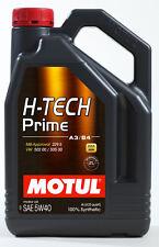 Motul H-Tech Prime 5W40 Engine Oil 5L for Mitsubishi Skoda Audi VW Mercedes Benz