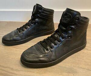 Gucci Men's Guccissima GG Supreme High Top Sneakers Sz 10 G =  US 11 *Authentic*