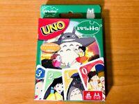 UNO Tonari no Totoro Studio Ghibli My Neighbor Totoro Card Game ENSKY Japan
