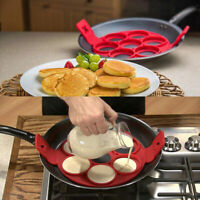 Pancake Silicone Mold Nonstick Baking Waffle Egg Cake Perfect Form Reflect V8K8