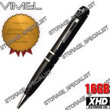 Security Camera Pen Camera 16GB Body Police Cam 1080P Vimel Video NO SPY Hidden