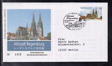 B 5203 ) Bund Germany 2011 FDC  - UNESCO: Altstadt Regensburg skl