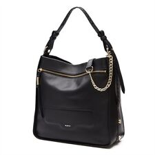 MIMCO Illusion Bucket Hand / Shoulder Bag Black & Gold tone hardware RRP $550.00