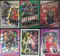 Lot of (6) Pascal Siakam, Including Got Game green, Prizm ice & more inserts