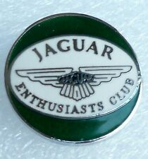 JAGUAR ENTHUSIASTS CLUB  ENAMEL LAPEL PIN BADGE