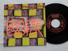 "GYNETTE EXOTOL Reste-la tranquilou FRENCH 7"" 45 FABIAN GARAGE/REFLEXES FAB 29"