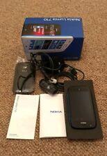 NOKIA LUMIA 710 MOBILE PHONE VODAFONE CYAN BOXED USED BOXED