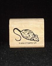Stampin Up Mouse Stamp Single from Fancy Felines Cute Fuzzy Critter Cat Toy HTF