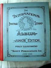 International Postage Stamp Album Junior Edition *1939 w/ Over 2500 Stamps