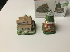Liberty Falls Home Of Artist Anabelle Phillips, Water Tower, Ah152, Lot Of 2