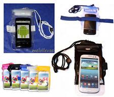 Funda impermeable Acuatica lluvia Smartphone Movil Sumergible medidas 16 x 9