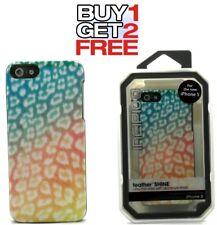 Incipio Feather Shine Case Cover For Apple iPhone SE 5s & 5 Safari Sunset New