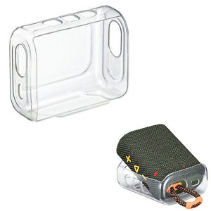 Protective Cover Shell for JBL GO3 Bluetooth Speaker TPU Transparent Case Cover