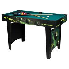 Tavolo Da Biliardo Professionale Carambola Con Stecche Palle Panno Verde Dunlop