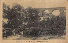 Br35731 Luxembourg Le viaduct du Nord et le plateau d Altmunster luxembourg