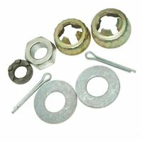 New Vespa LML PX Star Stella Rear & Front Hub Wheel Nut Washer Kit
