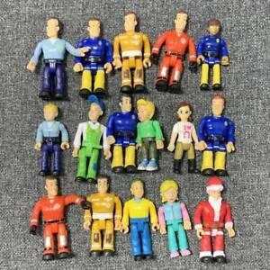 Random 3PCS Fireman Sam Figure Toys Cute PVC Action Figure Doll Toys No repeat
