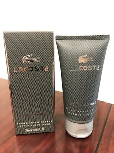 LACOSTE POUR HOMME ( 2012 ) by LACOSTE 2.5 FL oz / 75 ML After Shave Balm In Box