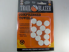 Compressed Survival Towels survival camping preppers hikers Mechanics 12 Pack