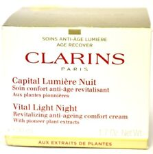 Clarins Capital Lumiere Nuit Vital Night Cream All Skin Types 1.7 oz BOXED