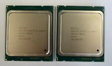 MATCHED PAIR Intel E5-2660 V2 2.2GHz Turbo 3GHz 10 Core 25 Mo SR1AB processeurs