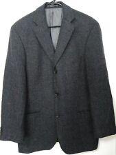Hugo Boss Mens 42R(Tag 38R) Dark Gray Wool Cashmere 3 Button Sport Coat Jacket