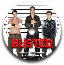 Busted Rock Guitar Tab Tablature Song Book CD