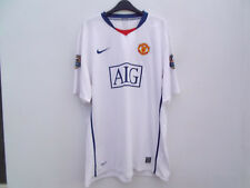 MANCHESTER UNITED TEVEZ 32  FOOTBALL SHIRT BY NIKE AWAY SIZE XXL