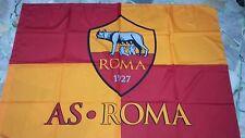 1 bandiera ufficiale As Roma 140x100 cm Totti Dzeko Lupa De Rossi official  flag