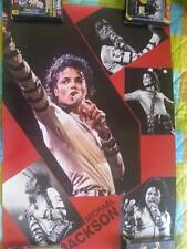 MICHAEL JACKSON BIG POSTER BAD rare period 92/95