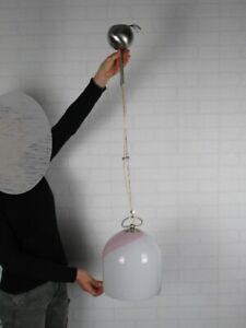 La murrina Lamp Suspension Glass Murano Submerged Design 1980