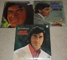 Engelbert Humperdinck 3 vinyl lp set-Sweetheart, Release Me, After the Lovin