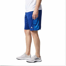 Adidas Men�€™s Performance Short, Glitch Panel, Blue, Large ,XL , XXL