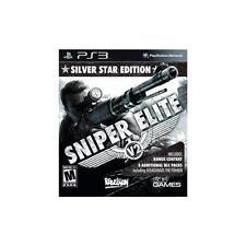 New: Sniper Elite V2, Silver Star Edition: Playstation 3, PlayStation 3 Video Ga