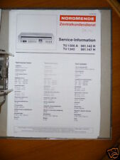 Tv, Video & Audio 981.115 H Service Manual-anleitung Für Nordmende Discocorder Rk 4186