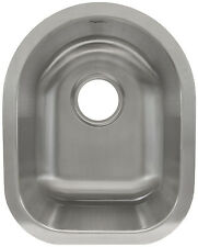 """13 5/8"""" x 7"""" Deep Kitchen Prep Sink Stainless Steel Bar L104 by LessCare"""