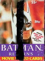 Topps 92 Batman Returns Movie Cards Wax Box (36)