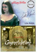 Tim Burton's Sleepy Hollow Trading Cards Signature Card: Lisa Marrie