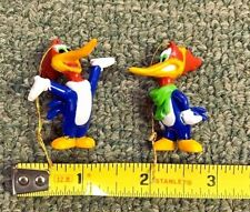 VINTAGE WOODY WOODPECKER CHRISTMAS ORNAMENT SET (2) MINT/NEW CONDITION