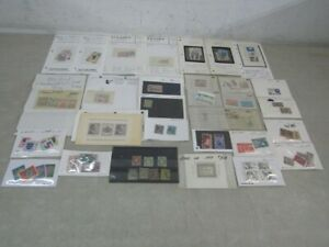 Nystamps Luxembourg France Spain Italy many mint stamp collection high value