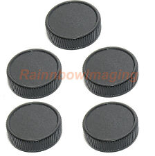 5 pcs x Lens Rear Cap for Leica M Camera M6 M8 M7 M5 M9 M10 Ricoh GXR Mount A12