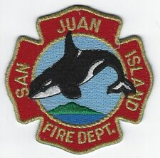**SAN JUAN ISLAND WASHINGTON FIRE DEPARTMENT FIRE PATCH**