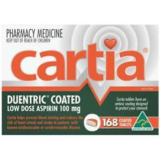 * CARTIA DUENTRIC COATED LOW DOSE ASPIRIN 100MG 168 TABLETS