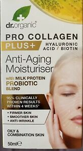 Dr Organic Pro Collagen Plus Hyaluronic Acid Anti-Aging Moisturiser - 50ml
