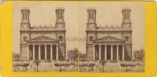 Église Saint-Vincent-de-Paul de Paris Photo Stereo Vintage albumine ca 1865